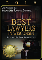 Best Lawyers 2016 Badge